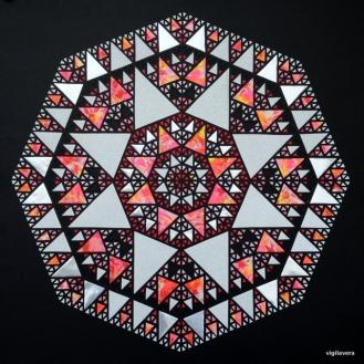 Pascalcirkel Original (2016) 70x70 cm. SOLGT