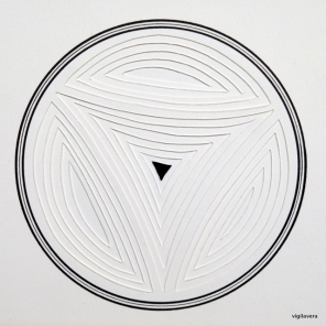 Reliefcirkel III* (2016) 20x20 cm