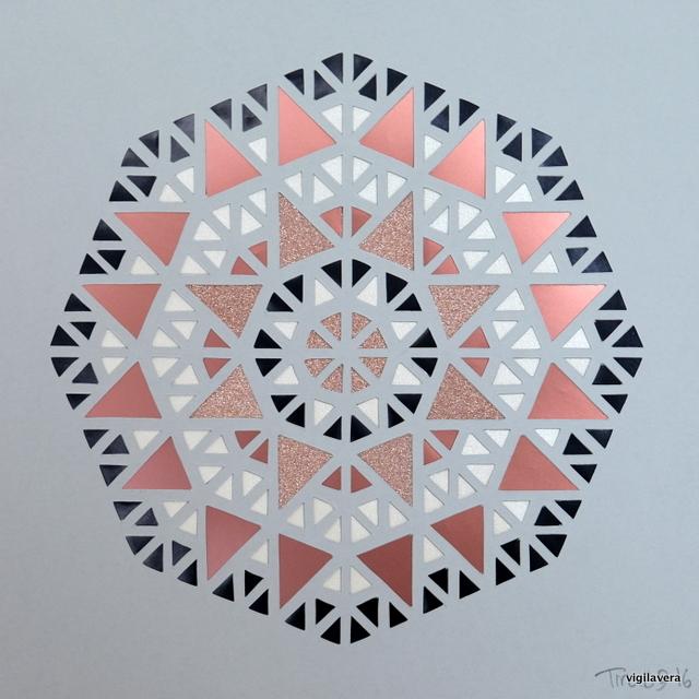 Mini-pascal Kobber (2017) 20x20 cm. Pris 500 kr.