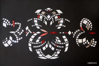 Spejlinger negativ b (2017) 70x100 cm. Pris 2.500 kr.