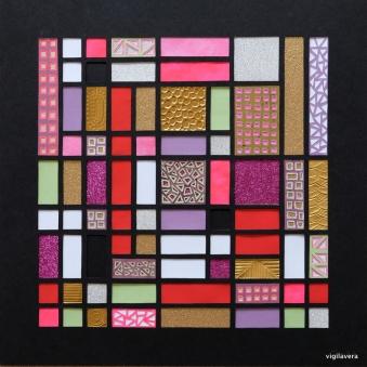 Fibonacci Kell Couleur a (2018) 30x30 cm. Pris 700 kr.