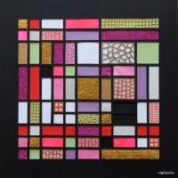 Fibonacci Kell Couleur b (2018) 30x30 cm. Pris 700 kr.