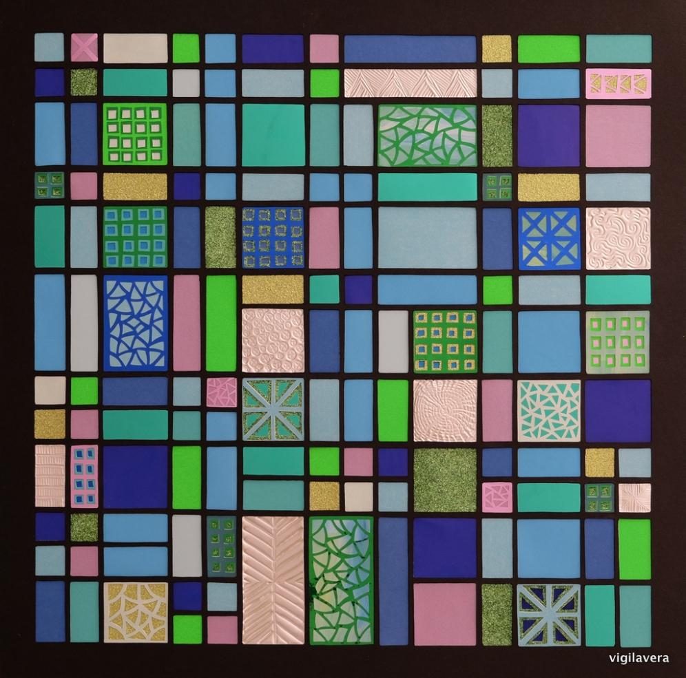 Fibonacci Discooler (2018) 40x40 cm. Pris 1.400 kr.