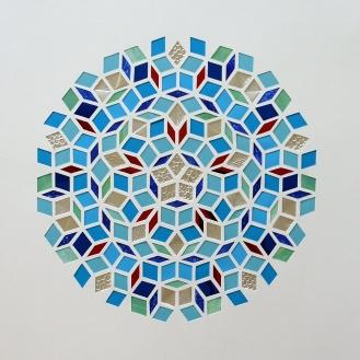 Penrose - The Pool (2018) 40x40 cm. Pris 1.400 kr.