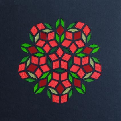 Penrose - Washing the strawberries (2018) 30x30 cm. Pris 800 kr.