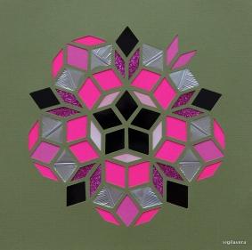Penrose Purple Autumn Break (2018) 21x21 cm SOLGT