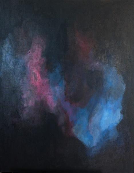 Stjernetåge - Nebula (2019) 70x90cm canvas