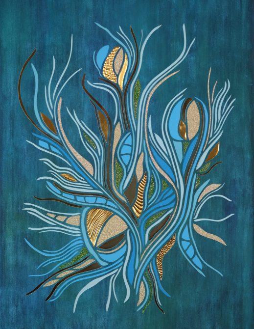 Lake Grass (2020) 30x42cm. SOLGT