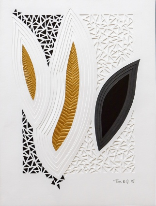Relief Fantasi. 30x40 cm. 800 kr.