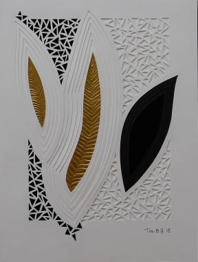 Relief Fantasi. 30x40 cm