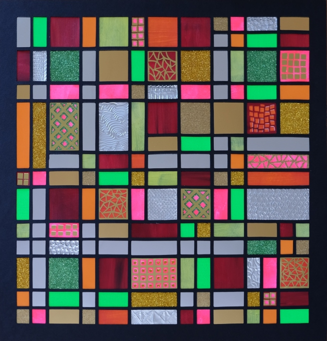 Fibonacci Discouleur (2018) 40x40 cm. Pris 1.400 kr.